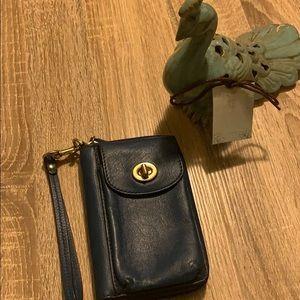 Vintage coach wallet leather